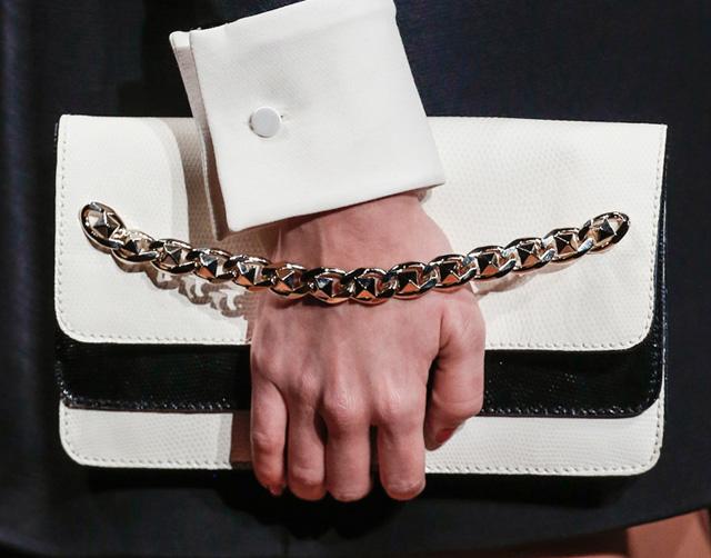 Valentino Chain Strap Clutch