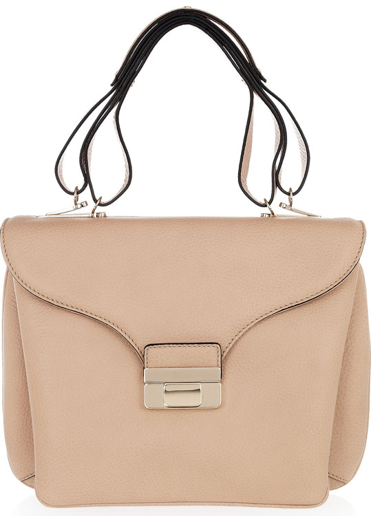 Valentino Leather Top Handle