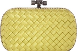 Ultimate Fashion Hunt Reveal #3: Bottega Veneta Satin Knot Clutch