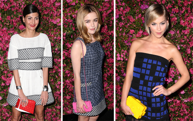 Celebs carrying Chanel Bags