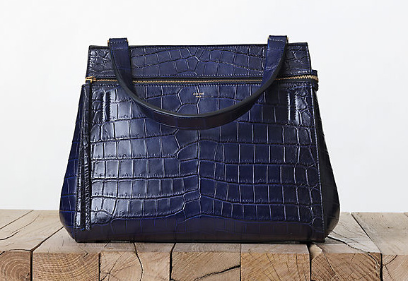 Celine Crocodile Edge Bag Fall 2013
