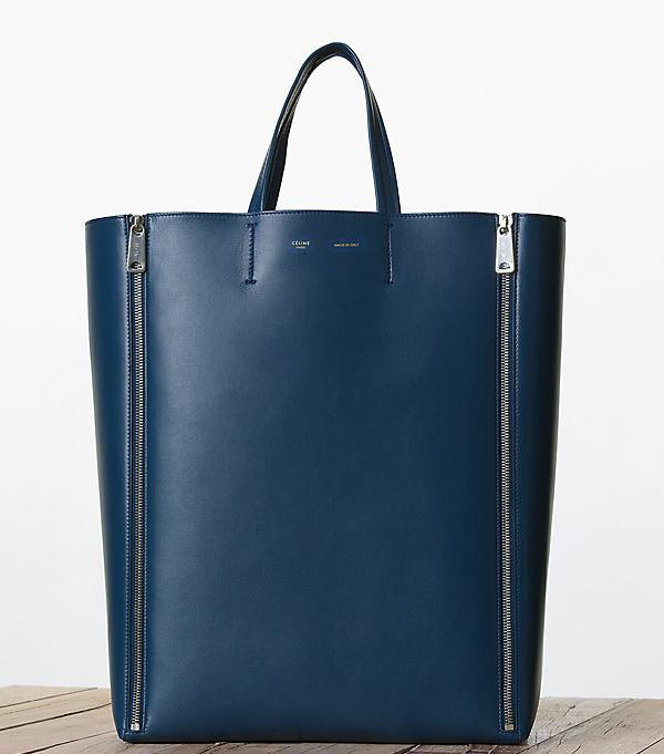 Celine Vertical Zipper Cabas