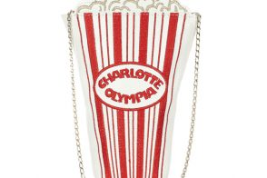 "Fill in the Blank: ""I'd go see _____ with the Charlotte Olympia Movie Night Shoulder Bag."""
