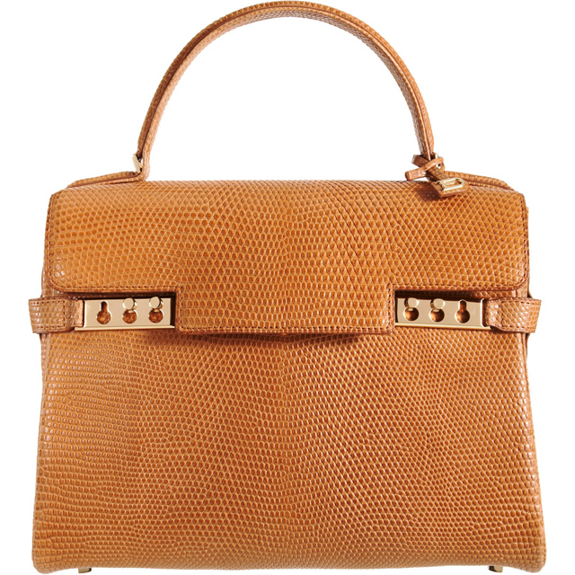 Delvaux Tempete MM Lizard Bag