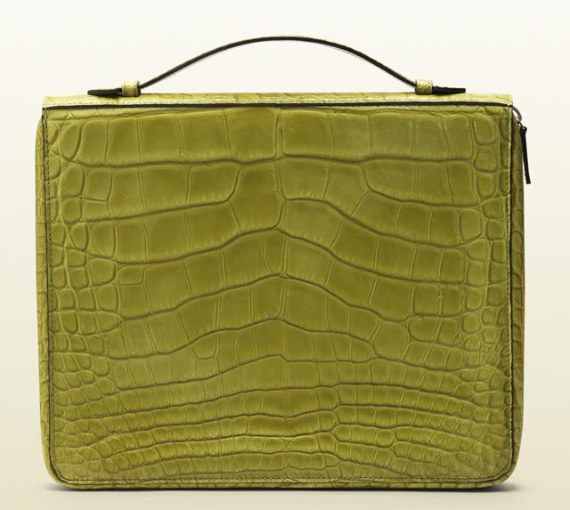 Gucci Crocodile iPad Case