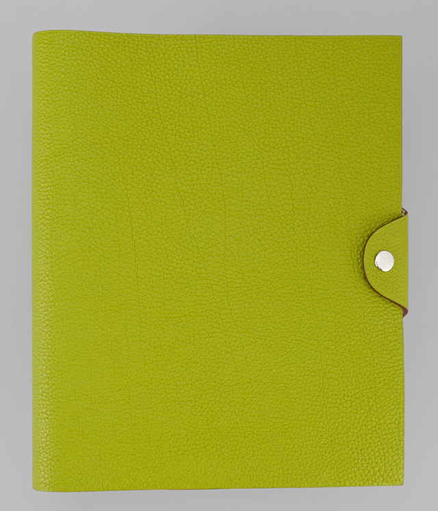 Hermes Green Togo Leather Agenda Cover