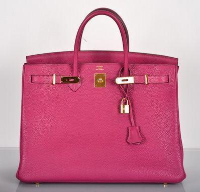 Hermes Tosca Togo 40CM Birkin Bag
