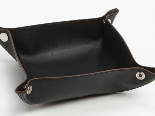 Jack Spade Leather Valet Tray