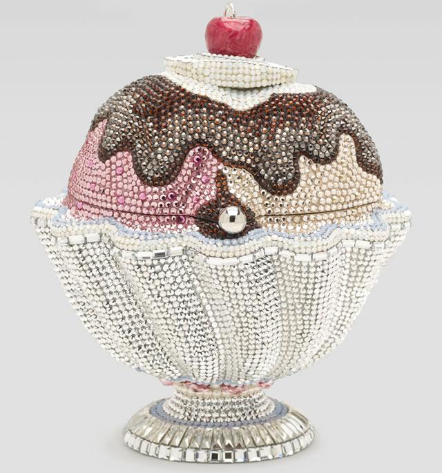 Judith Leiber Hot Fudge Ice Cream Sundae Minaudiere