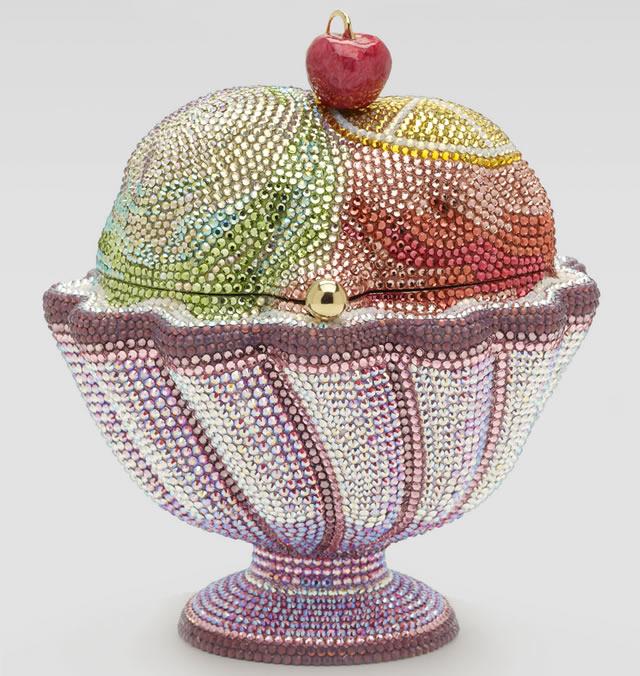 Judith Leiber Sorbet Ice Cream Sundae Minaudiere
