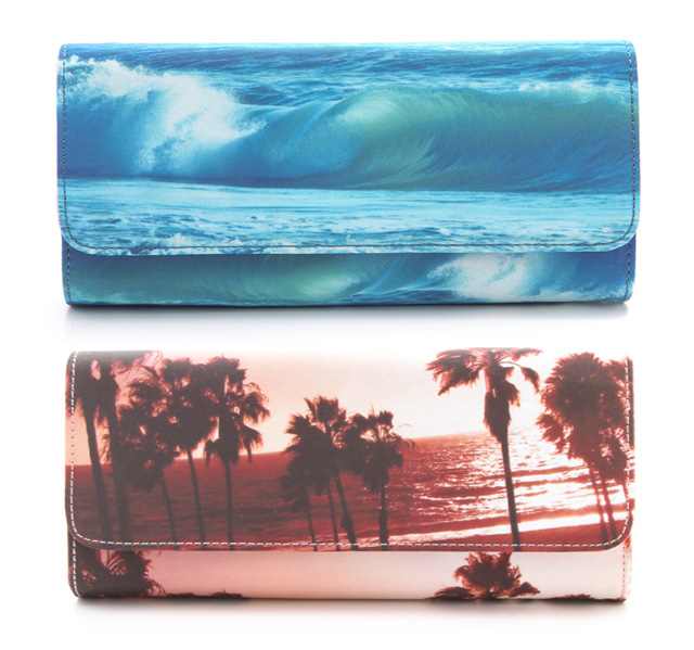 Juicy Couture Summer Print Clutches