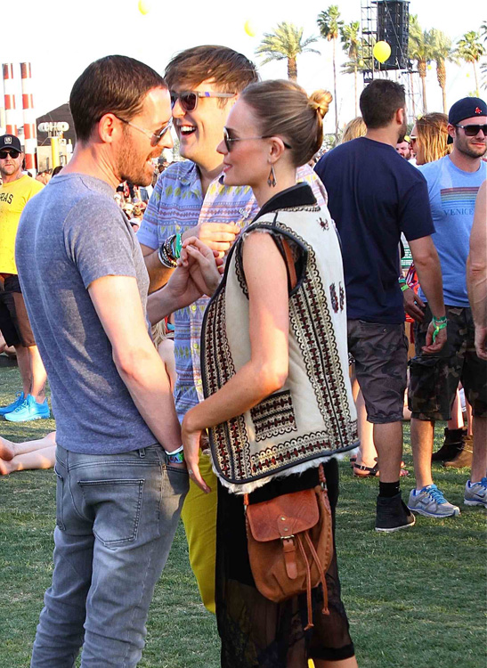 Kate Bosworth Brown Crossbody Bag Coachella
