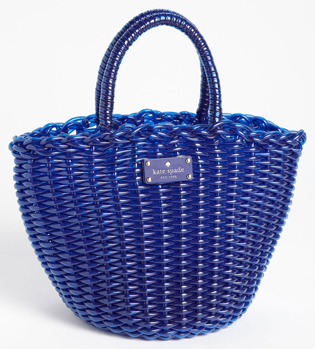 Kate Spade Beach Club Beth Tote Blue