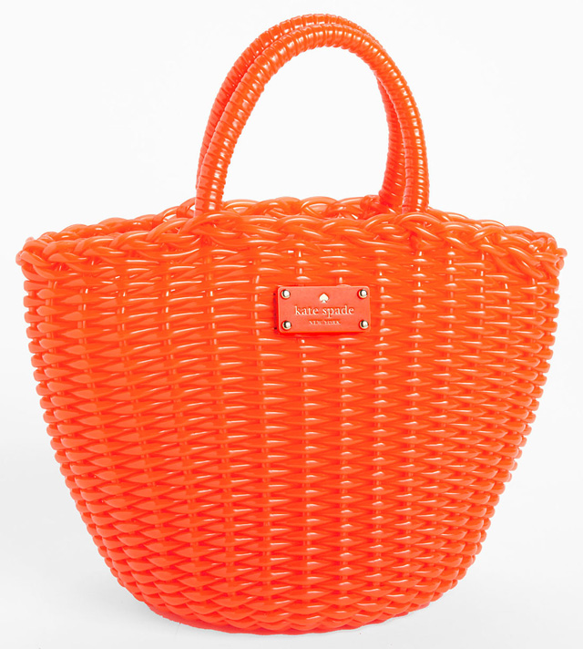 Kate Spade Beach Clutch Beth Tote Orange
