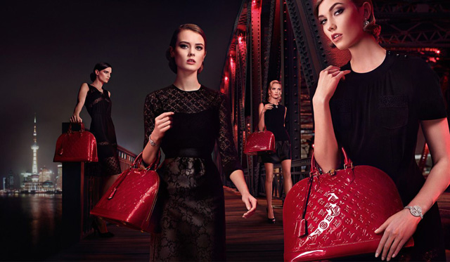 Louis Vuitton Alma Bag Chic on the Bridge Ad Campaign, featuring Karlie Kloss (6)