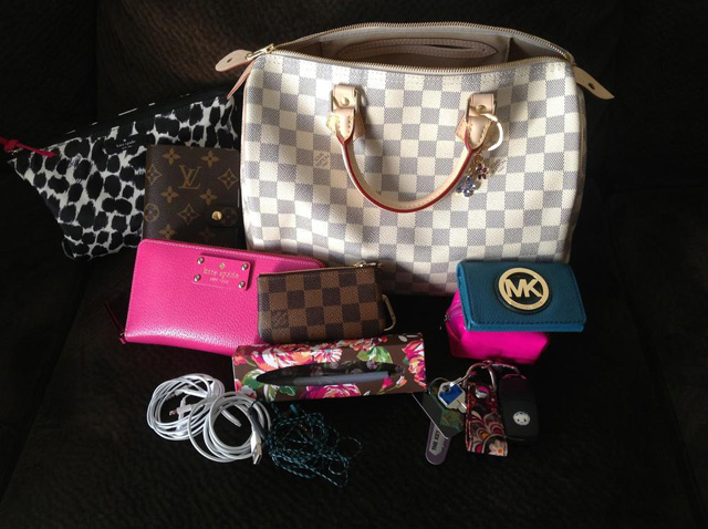 Louis Vuitton Speedy Bag Contents