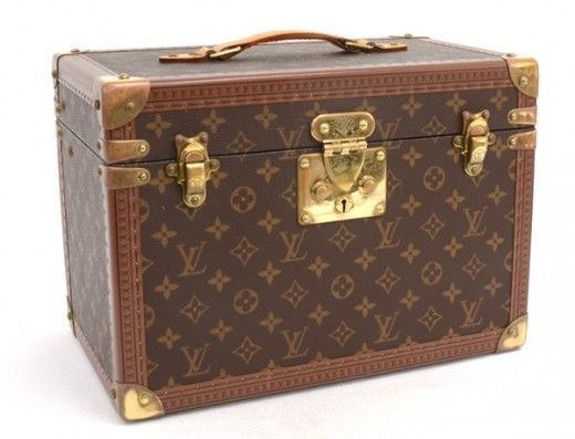 Louis Vuitton Vintage Monogram Canvas Toiletry Trunk Case
