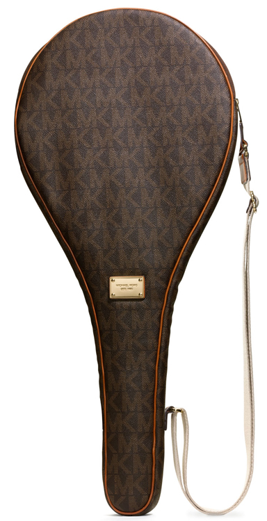 MICHAEL Michael Kors Jet Set Logo Tennis Racket Case