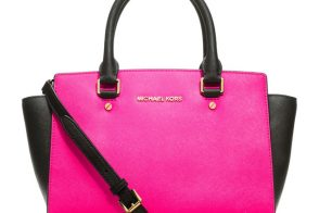 The MICHAEL Michael Kors Selma Satchel now comes in colorblock
