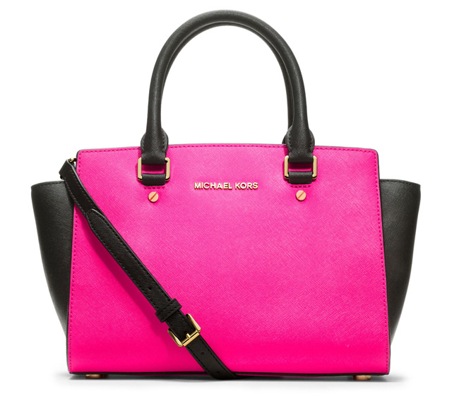 michael kors savvy the michael michael kors selma satchel now comes in. Black Bedroom Furniture Sets. Home Design Ideas