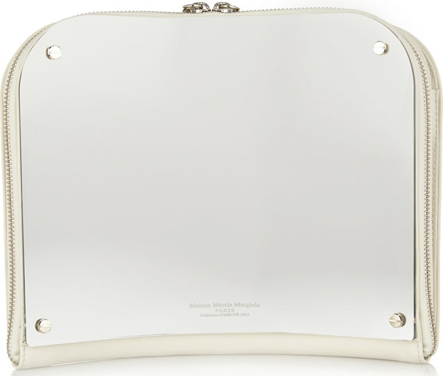 Maison Martin Margiela Curved Mirror Clutch