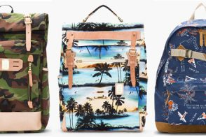 Man Bag Monday: Master-Piece Co's Printed Backpacks