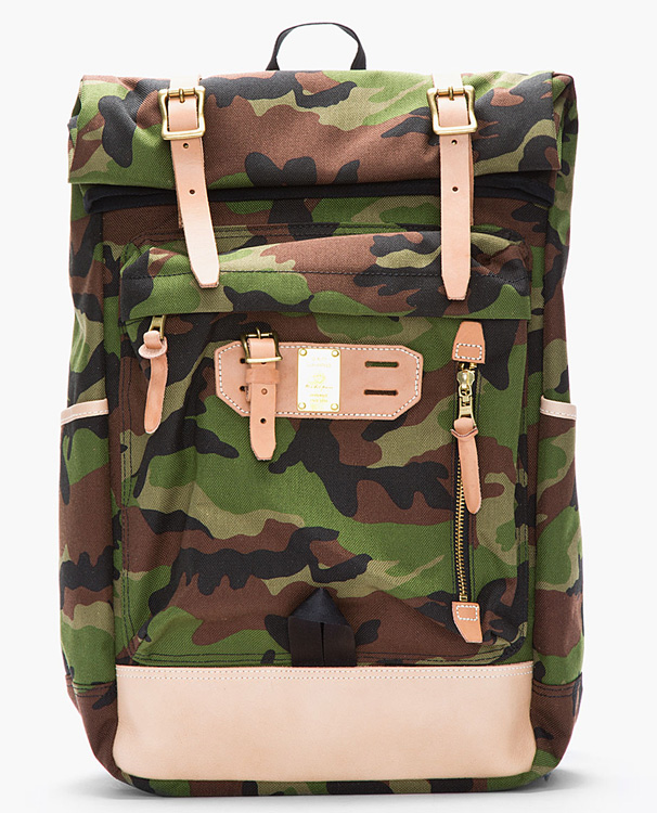 Master-piece Co Camouflage Surpass Backpack