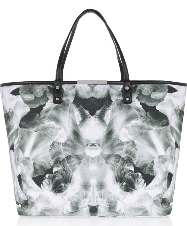 McQ Alexander McQueen Printed Shopper