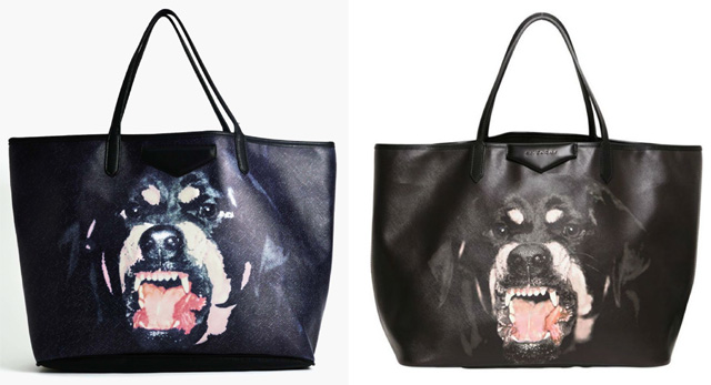 d9a985e1fc NastyGal rips off the Givenchy Rottweiler Antigona Tote, right down ...