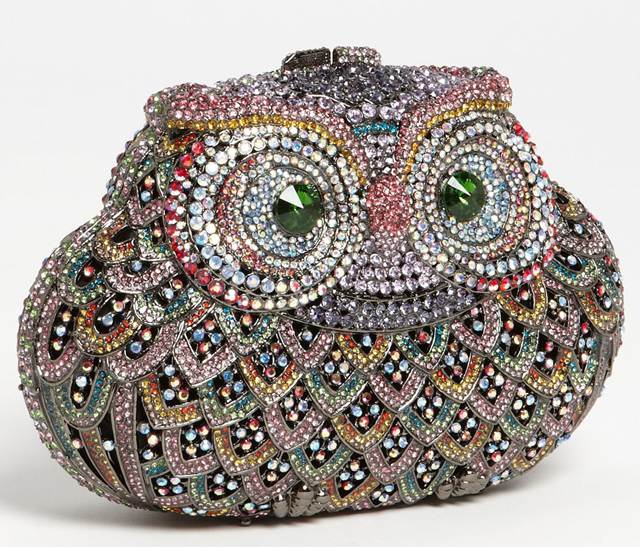 Natasha Couture Owl Clutch