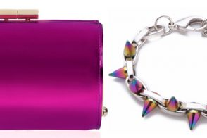 Perfect Pairs: Jimmy Choo Clutch and Joomi Lim Bracelet