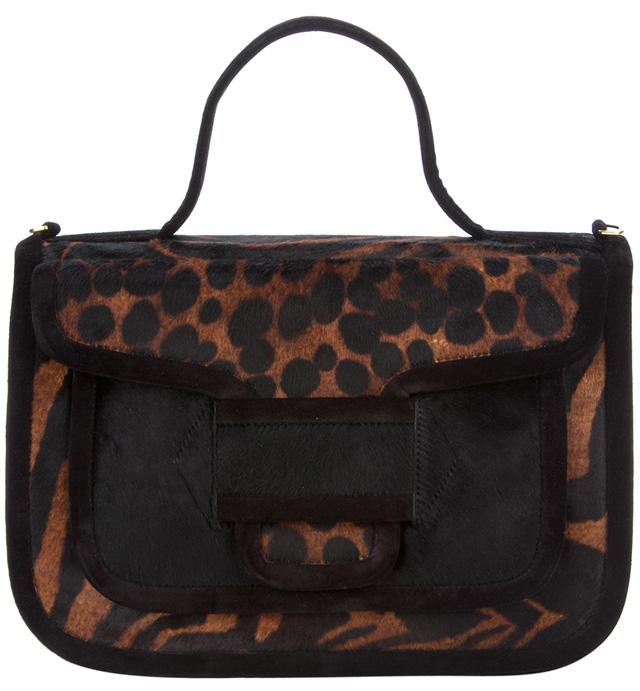 Pierre Hardy Animal Print Bag