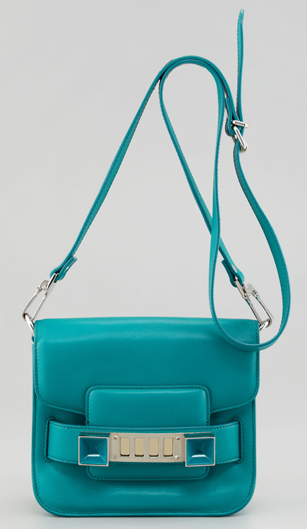 Proenza Schouler Tiny PS11 Bag Turquoise