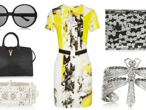 Take a dress from day to night with our PurseBlog Picks at Net-a-Porter