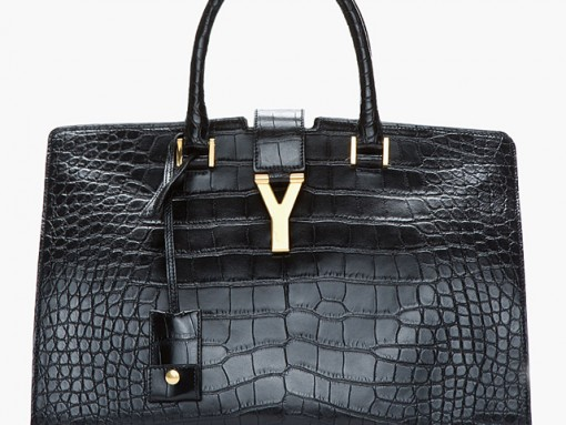The Saint Laurent Cabas now comes in pricey alligator