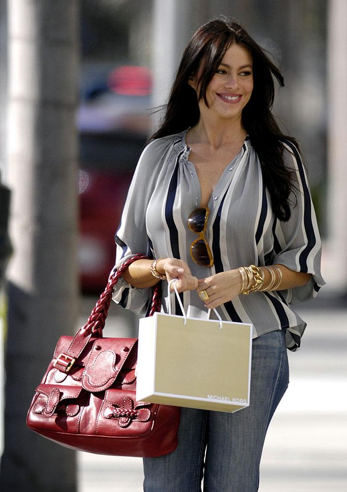 Sofia Vergara Valentino Histoire Bag