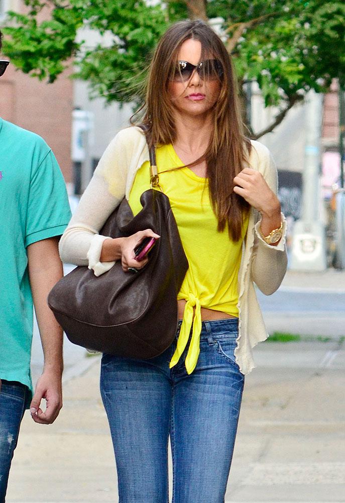 Sofia Vergara Yves Saint Laurent Roady Bag