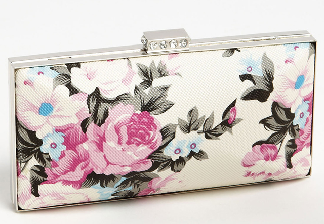 Tasha Flower Box Clutch