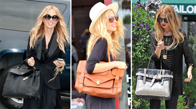 The Many Bags of Rachel Zoe