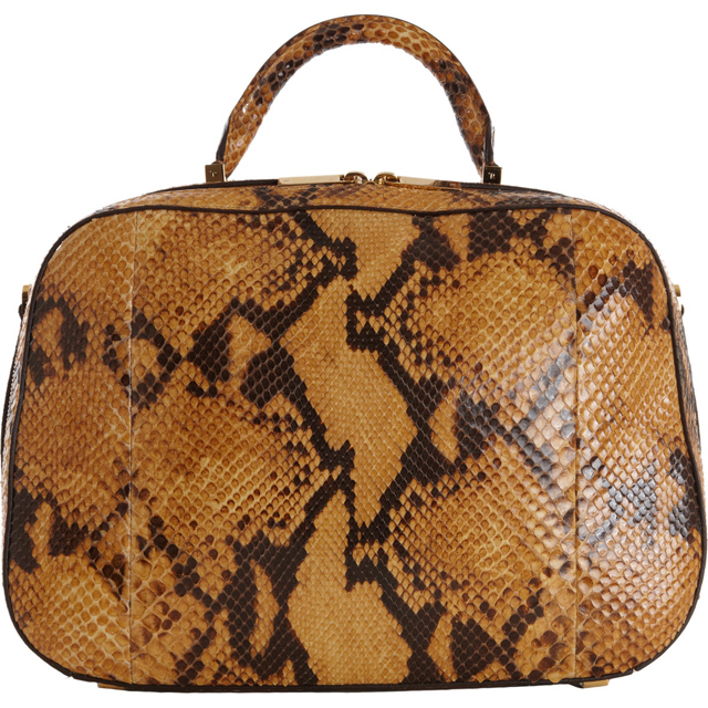 The Row Python Small Bowler bag
