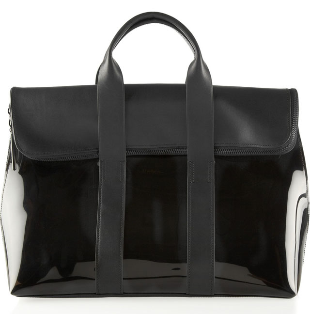 3.1 Phillip Lim 31 Hour PVC and Leather Bag