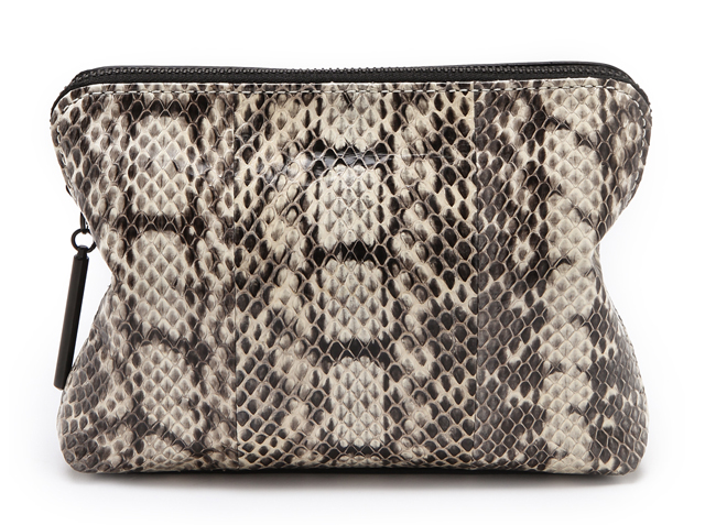 3.1 Phillip Lim 31 Second Snakeskin Clutch