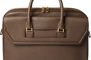 Alexander McQueen Full Grain Leather Holdall Bag