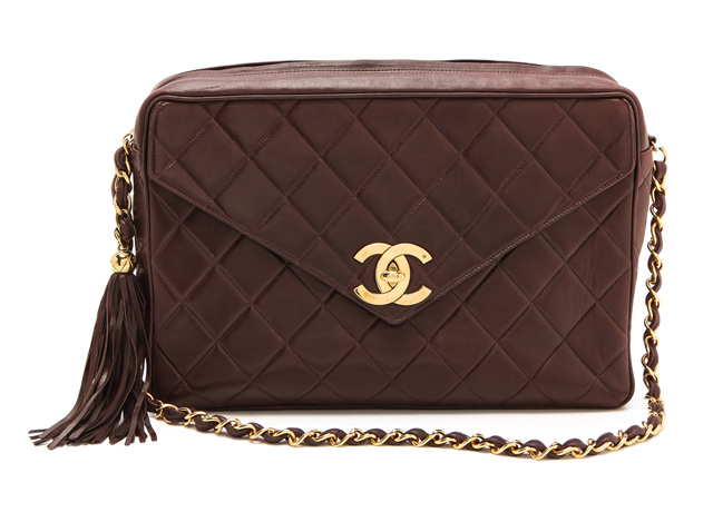Chanel Jumbo Quilted Bag from What Goes Around Comes Around