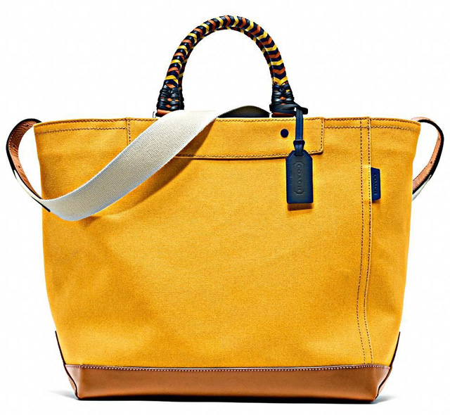 Coach Bleecker Beach Canvas Tote