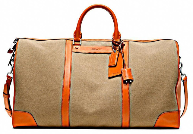 Coach Bleecker Canvas Cabin Bag