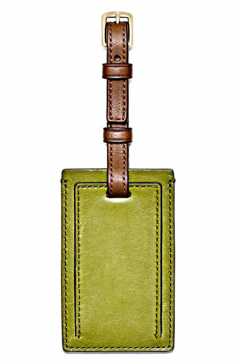 Coach Bleecker Legacy Small Luggage Tag