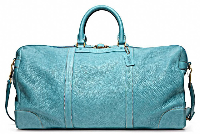 Coach Bleecker Pebbled Leather Cabin Bag