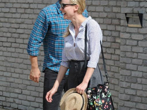 Diane Kruger carries a 3.1 Phillip Lim Scout Floral Shoulder Bag (5)