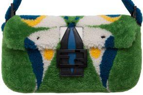 Fendi Brazil Baguette Bag